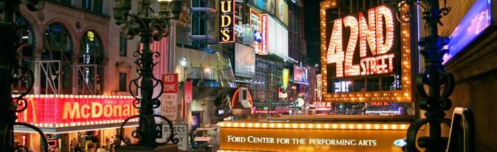 Proyectos para renovar la emblemática calle 42 de Nueva York