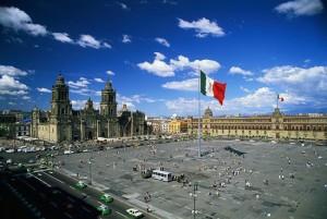 Centro Histórico de la Ciudad de México.- (declarado en 1987)