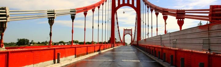 Puentes colgantes, maravilla de la arquitectura