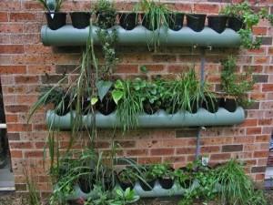 Jardinera con PVC